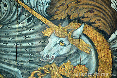 De Eenhoorn van het wapenschild