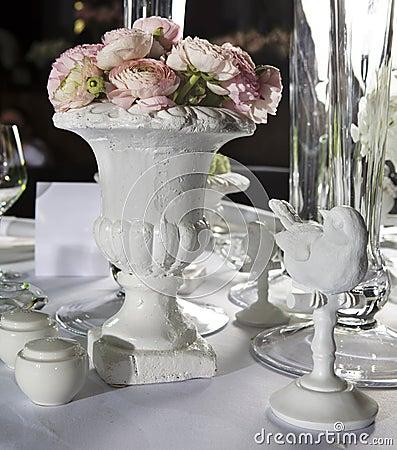 De eettafel van de decoratie in restaurant stock afbeelding afbeelding 9365071 - Afbeelding van decoratie ...