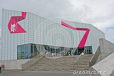De Eigentijdse Kunstgalerie van de keerder, Margate Redactionele Foto