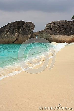 De eilanden van Similan, Thailand, Phuket