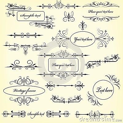 De elementen van het ontwerp