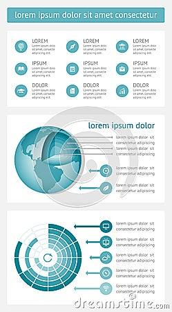 De elementen van Infographics en van het Web