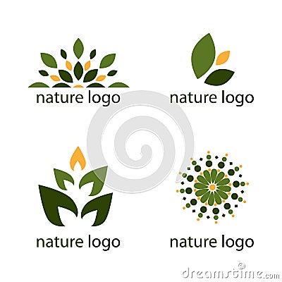 De emblemen van de aard