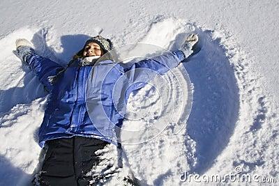 De Engel van de sneeuw
