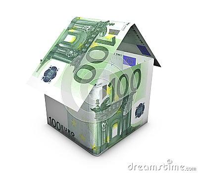 De euro Vorm van het Huis