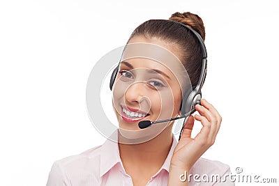 De Exploitant van het Call centre