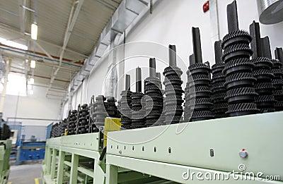 De fabriek van vervangstukken