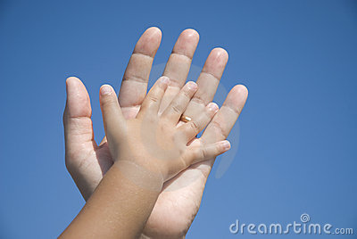 De familie van handen