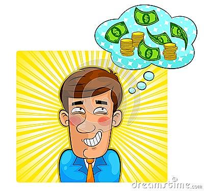 De fantasie van het geld