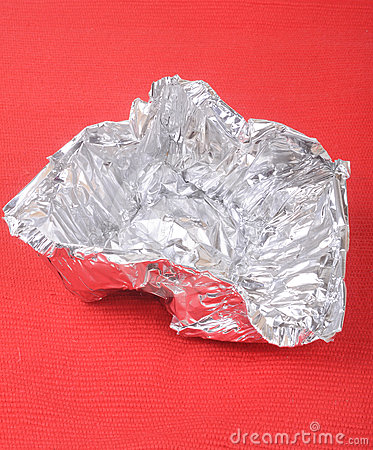 De folie van het aluminium