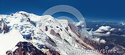 De foto van alpen