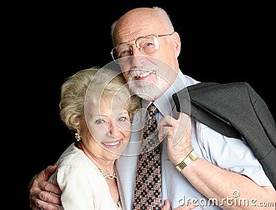 De Foto van de voorraad van het Houden van van Hoger Paar