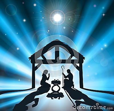 De geboorte van Christus van Kerstmis
