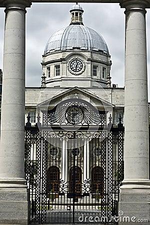 De gebouwen van de overheid