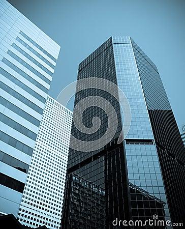 De gebouwen van het bureau