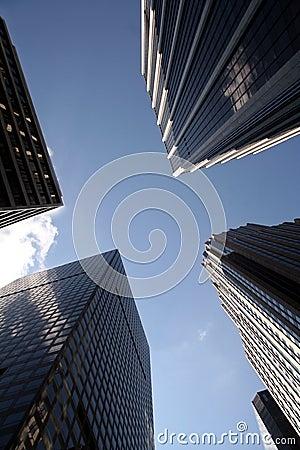 De Gebouwen van het Bureau van Manhattan