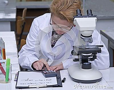 De gegevensverwerking van de onderzoeker