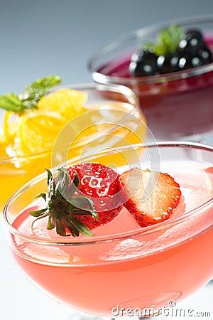 De gelei van het fruit