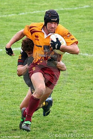 De gelijke van het rugby Redactionele Fotografie