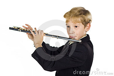 De geluiden van de fluit