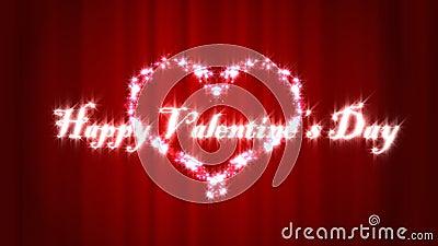 De gelukkige dag van de Valentijnskaart