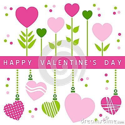 De gelukkige Kaart van de Dag van Valentijnskaarten [1]
