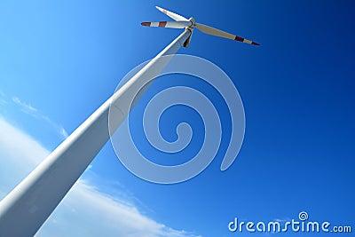 De generator van de windmolenmacht