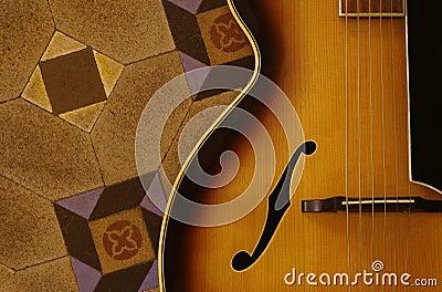 De Gitaar van de jazz