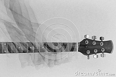 De gitaar van het spel