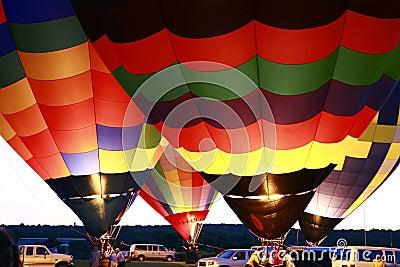 De Gloed van de ballon