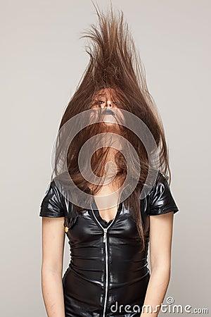 De golf van het haar