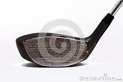 De golfclub van de bestuurder