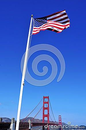 De gouden Brug van de Poort, San Francisco, Verenigde Staten
