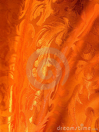 De gouden stof van de luxe