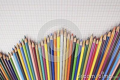 De Grafiek van potloden