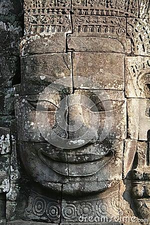 De gravure van de steen