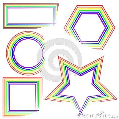 De grenzen van de regenboog