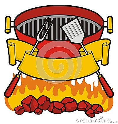 De grill van de barbecue