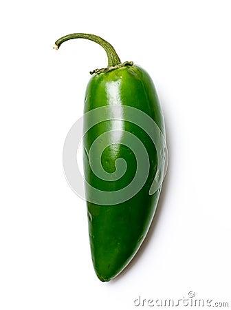 De groene peper van Chili