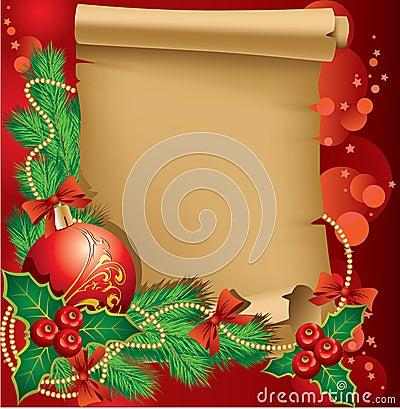De groeten van Kerstmis
