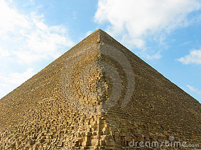 De grote Piramide van Giza