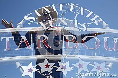 De grote Tex en markt van de staat van Texas Redactionele Afbeelding