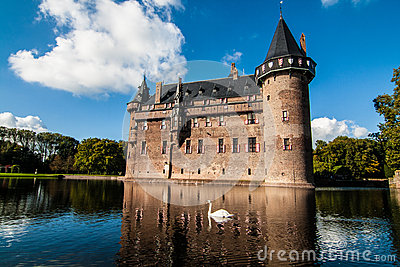De Haar Castle, the Netherlands Editorial Photo