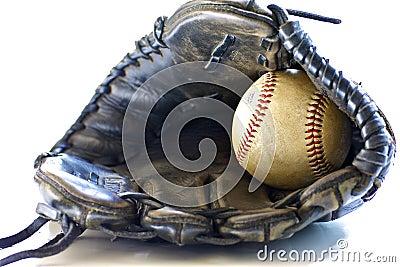 De Handschoen van het honkbal