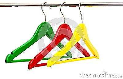 De hangers van de doek