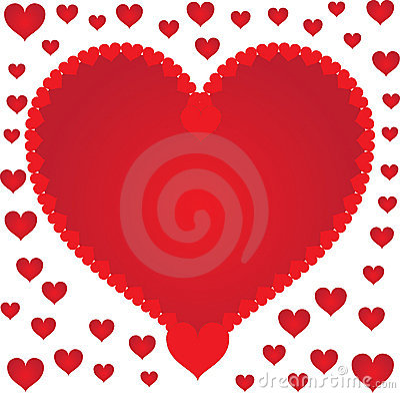 De harten van de hartstocht