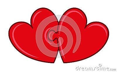 De harten van het raadsel