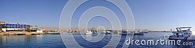 De haven van de GrSjeik van Sharm