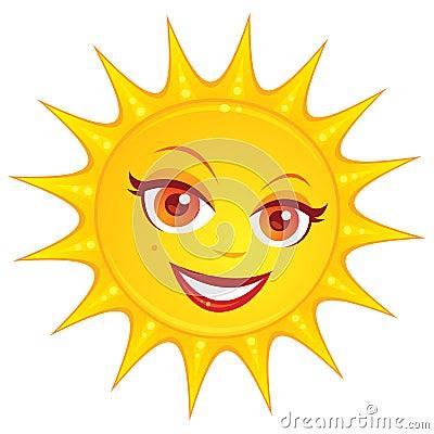 De hete Zon van de Zomer