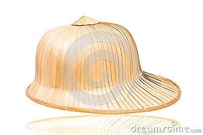 De hoed van het weefsel